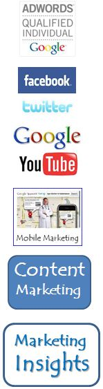 Google Adwords Qualified, Content Marketing, Mobile Marketing